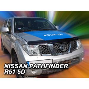 Kapoto deflektorius NISSAN Navara/Pickup II 4 durų (2004-2010) Pathfinder 5 durų (2005-2012)