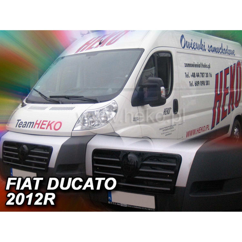 Žiemos deflektorius FIAT Ducato III Facelift (2006-2014)