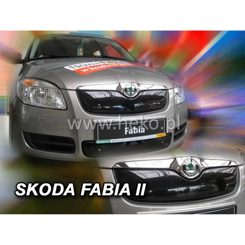Žiemos deflektorius ŠKODA Fabia II (2007-2010) Roomster (2006-2010) viršutinis