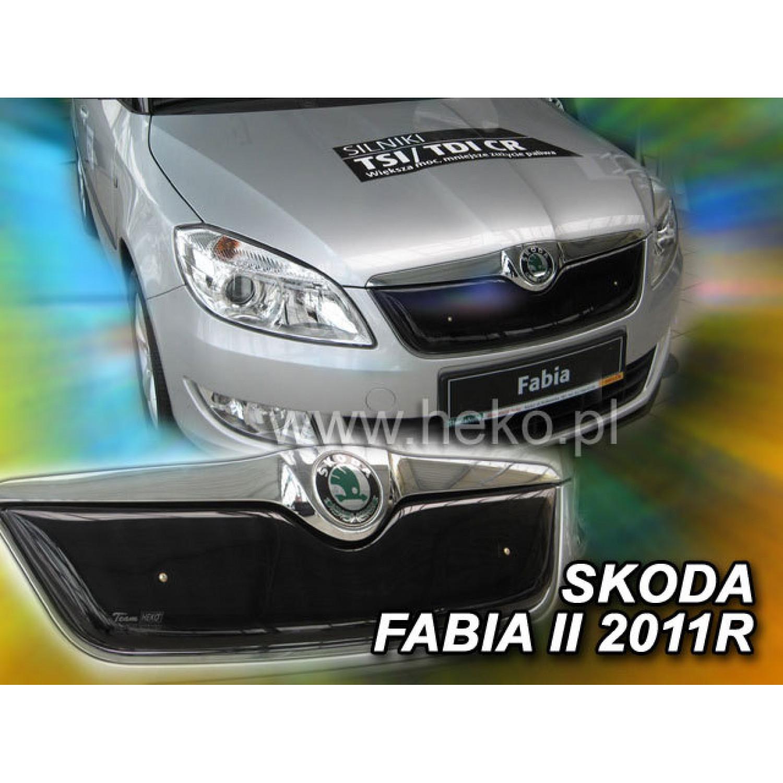Žiemos deflektorius ŠKODA Fabia II/Roomster (2010-2014) viršutinis