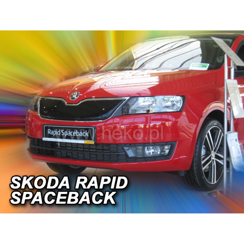 Žiemos deflektorius ŠKODA Rapid/Rapid Spaceback 5 durų viršutinis (2012→)