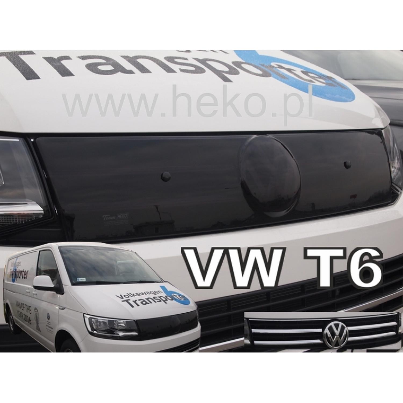 Žiemos deflektorius VOLKSWAGEN Transporter/Caravelle T6 viršutinis juodas (2015→)