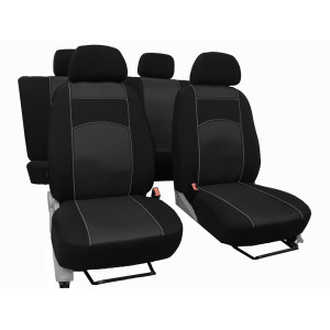VIP sėdynių užvalkalai Volkswagen Transporter T6 Double Cab 6 Seats