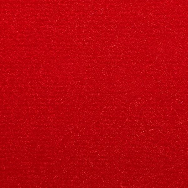 Kirpto pluošto plaukeliai, raudonas 1046