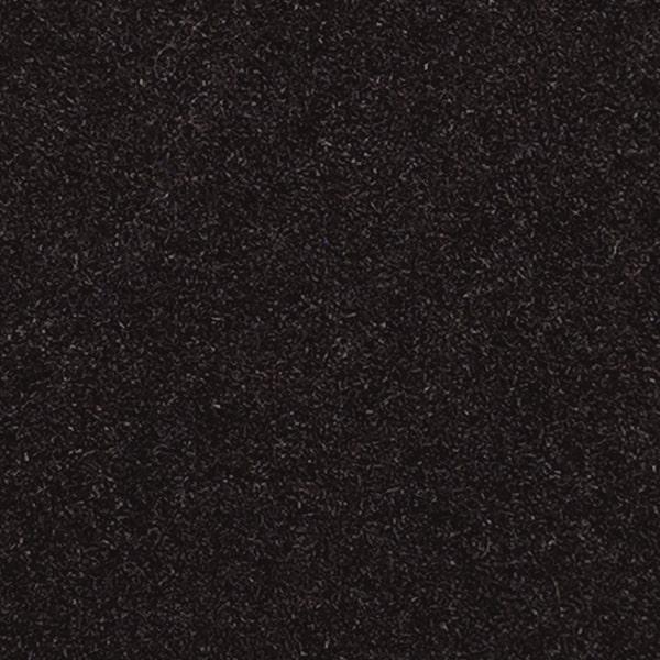 Kirpto pluošto plaukeliai, juoda 1061