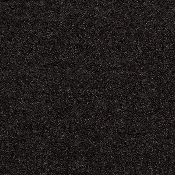 Kirpto pluošto plaukeliai, juoda 1071