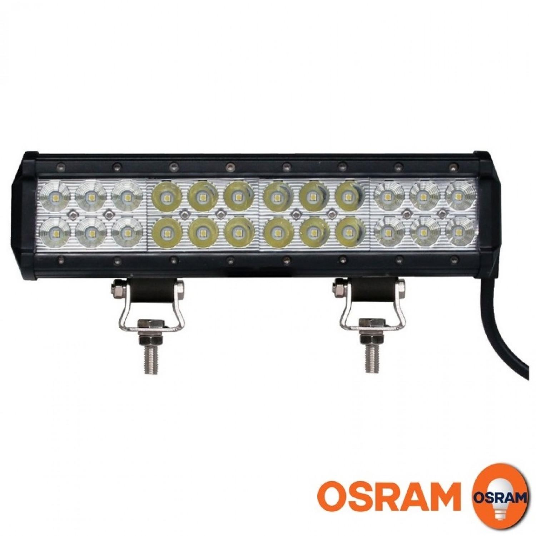 Papildomas LED žibintas M-Tech WLO604 4800lm Spot + Flood