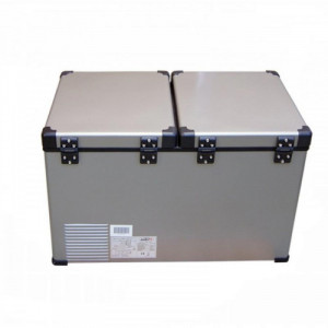 Automobilinis šaldytuvas Indel B TB65 DD STEEL