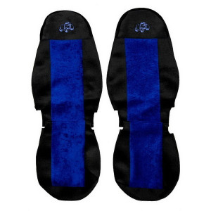 Sunkvežimių sėdynių užvalkalai VOLVO FH 12/FH 16 (2010→) BLUE