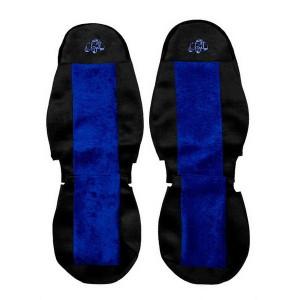 Sunkvežimių sėdynių užvalkalai VOLVO FH FM FL (2002-2012) (1 diržas) BLUE