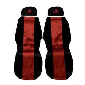 Sunkvežimių sėdynių užvalkalai SCANIA SERIES 4 (reguliuojamos galvos atramos)