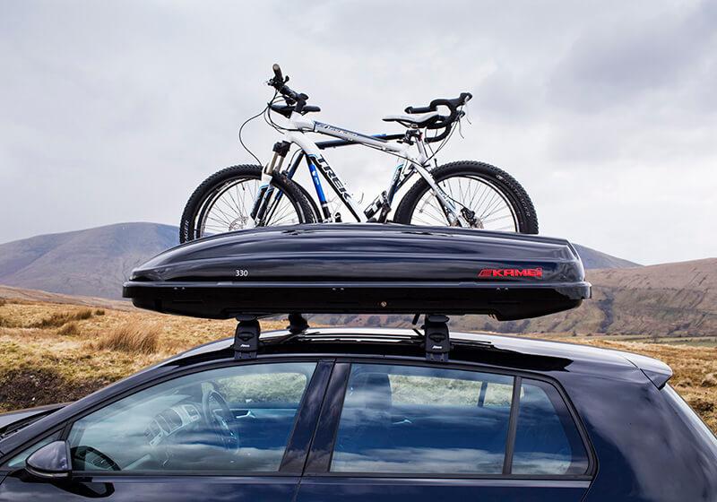 Stogo bagažinė - daugiau daiktų kelionėjė!