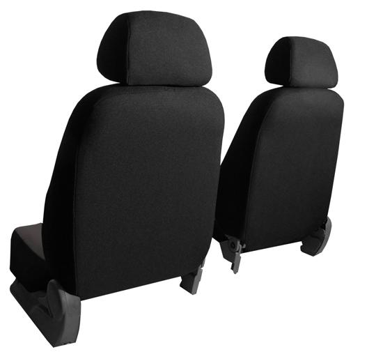 Sėdynių užvalkalai - nugarėlių pusė