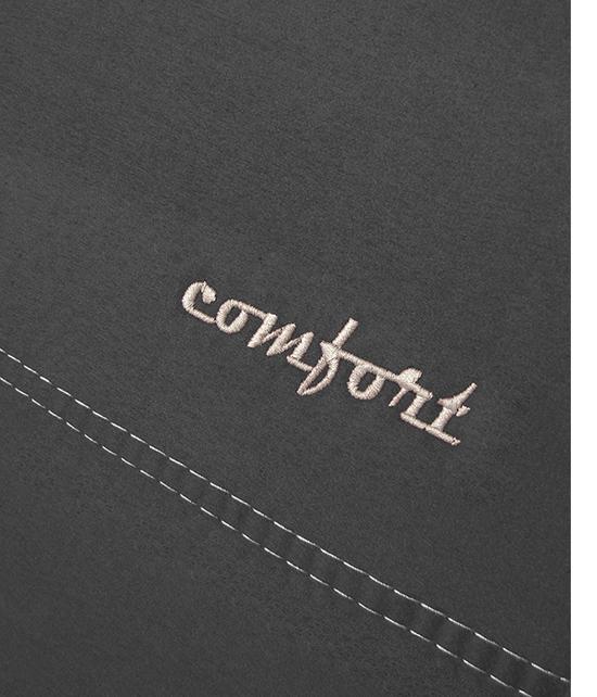 Sėdynių užvalkalai COMFORT ALCANTARA - siuvinėtas logo