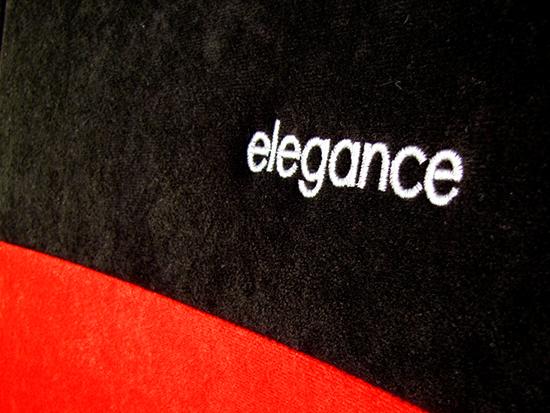 Sėdynių užvalkalai ELEGANCE - siuvinėtas logo