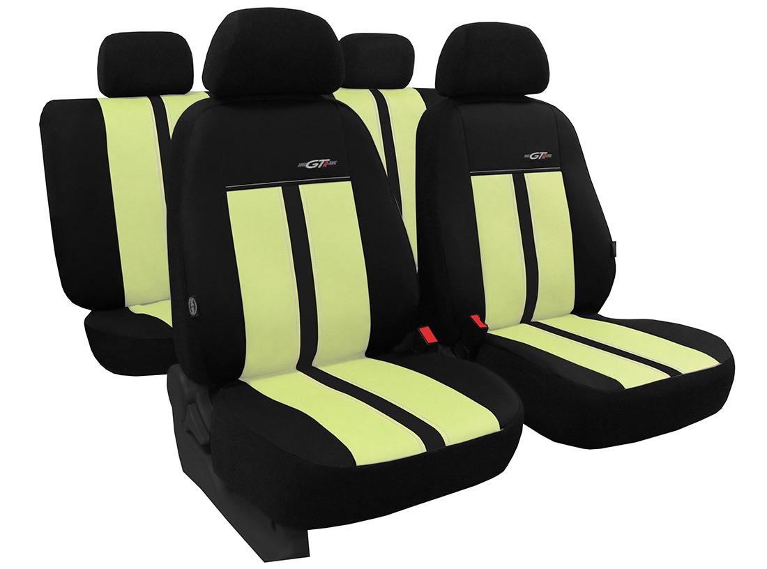 Sėdynių užvalkalai GTR iš arti