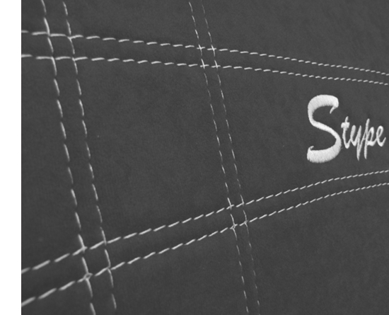 Sėdynių užvalkalai STYPE - siuvinėtas logo