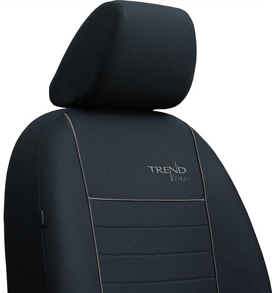Sėdynių užvalkalai TREND LINE - siuvinėtas logo